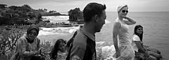 Russian Blond (Bert Pot) Tags: ocean travel sea bw bali panorama film analog indonesia temple seaside kodak pano trix streetphotography hasselblad hinduism xpan f4 45mm 400asa reportage travelphotography tanalot republicofindonesia bertpot xpanll