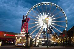 Niagara City (Micka972) Tags: city light night pose landscape nikon long exposure games niagara nuit mange ville jeux longue d5100