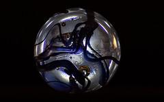 Inside a glass marble (annacarin_lindgren) Tags: black macro blackbackground glas cirkel klot sfr 160529 fotosondag