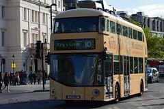 New bus for London with Kettle Bites wrap (louisemarston) Tags: uk london hydeparkcorner newbusforlondon borisbus lt152 ltz1152