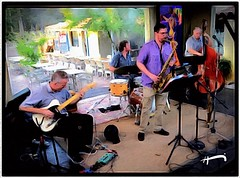 """INside Out, OUTside In"" (""SnapDecisions"" photography) Tags: arizona music drums nikon tucson bass guitar jazz d750 sax brushstroke mattmitchell hirschfeld jackwood mikemoynihan montereycourt gibbmandish"
