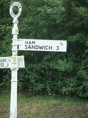 Ham Sandwich (eltpics) Tags: signs sign funny roadsign miles roadsigns distance eltpics
