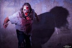Zombie_DSC0561HORROR (Yohann Franco) Tags: light shadow dark blood eyes zombie rage horror