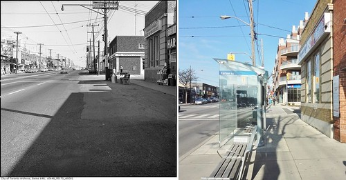 Avenue Rd. & Fairlawn Ave., Then & Now 1965-2014