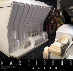 NARCISSUS39 (sith_fire30) Tags: sculpture building art scott miniature big model allen action alien aves ripley shuttle figure beast custom dayton diorama giger narcissus chap hrgiger prometheus sculpt styrene ridley xenomorph nostromo fixit sithfire30 covneant