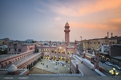 Sunehri Mosque-Peshawar-Pakistan (Shahid A Khan) Tags: pakistan sunset architecture photography amazing nikon landmark images mosque photograph d750 destination masjid islamic worshipers kpk peshwar sakhanphotography wwwgalleryskcom