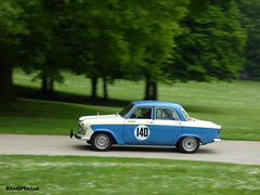 1959 Standard Vanguard Phase 3 Vignale (BenGPhotos) Tags: blue white 3 classic sports car sport race crystal palace racing richard motor standard phase sprint panning saloon 1959 vanguard motorsport autosport 2016 vignale scotchmer