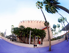 Lost Angels (kirstiecat) Tags: california girls female la losangeles women palmtrees negativespace lacma fisheyelens losangelescountymuseumofart lostangels