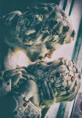 (Dale Michelsohn) Tags: light art statue photoshop canon kiss poetry poem gothic klimt romantic preraphaelite g5x dalemichelsohn