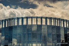 Avalanche (jesus pena diseo) Tags: madrid blue sky storm colour reflection nature clouds spain arquitecture alcorcon jesuspena jpena jpenaweb jesuspenadiseo