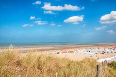 De Haan -1- (Jan 1147) Tags: sea summer sky sun beach nature clouds strand coast belgium outdoor dunes dune natuur wolken zee zomer duinen zon dehaan duin kust belgischekust wolkenlucht buitenopname vlaamsekust