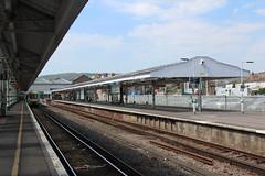 Eastbourne Station (S J Obey) Tags: station eastbourne bannister lbscr fdale