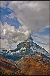 The Matterhorn , the Symbol of Switzerland. No. 6083.