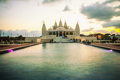 Shri Swaminarayan Mandir (Thomas Hawk) Tags: sunset usa america temple texas unitedstates fav50 unitedstatesofamerica houston hindu fav10 shriswaminarayanmandir fav25 bapsshriswaminarayanmandirhouston