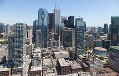 FiDi (Jack Landau) Tags: city urban toronto ontario canada skyline architecture buildings downtown district financial