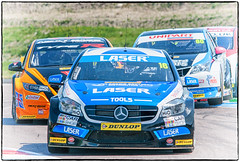 Aiden Moffatt Mercedes Benz A Class 1 Matt Neal Honda Civic Type R Tom Ingram Toyota Avensis (jdl1963) Tags: cars car sport tom honda matt aiden mercedes benz 1 championship racing class r toyota type civic british motor touring neal motorsport btcc ingram moffatt thruxton avensis a