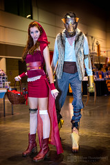 Little Red Riding Hood & the Big Bad Wolf - MegaCon 2016 Orlando (AgThunderbird) Tags: cosplay littleredridinghood bigbadwolf megacon megacon2016orlando megacon2016