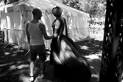 Waiting for Her Act L1111876 (erlin1) Tags: summer usa june outdoors minneapolis pride event mn loringpark 2016 leicam9 pride2016 evt2016