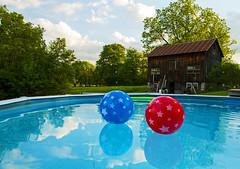 Pool Season... (Matt Champlin) Tags: life summer holiday hot pool rural swimming swim canon fun outdoors country celebration hazy memorialday humid 2016 hazyhothumid