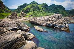 GTJ-2016-0630-9 (goteamjosh) Tags: ocean mountain landscape  taiwan erosion pacificocean    nanya northcoast rockformation northeastcoast   nanyapeculiarrocks newtaipei nanyarockformation   newtaipeicity