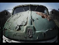 Prague (Ulvraith) Tags: old detail classic car truck logo rust republic czech sony rusty poland praga cracked rn fractured a500