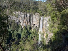 Purling Brook falls, on the eastern edge of the Springbrook Plateau (tanetahi) Tags: winter june queensland springbrooknationalpark scenicrim
