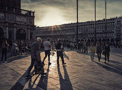 Sunset in Piazza San Marco