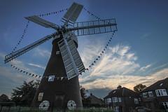 June sunset at Holgate Windmill - 6