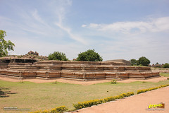Remnants of the so-called Queen's Palace in Zenana enclosure, Hampi (Trayaan) Tags: travel india monument worldheritagesite historical karnataka hampi vijayanagar incredibleindia vijayanagara vijayanagarastyle indianhistoricalarchitecture karnataempire vijayanagaratemplearchitecture vijayanagaratemplearchitectur