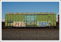 Warwick Railway (All Seeing) Tags: rust container fart boxcar anus wrwk4339