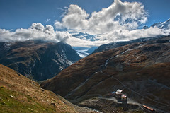 Morning time on Monte Rosa, a view from the Schwarzsee, no. 2407. (Izakigur) Tags: alps nature topf25 liberty switzerland europe suiza swiss mother topf300 glacier montrose zermatt monterosa matterhorn svizzera thelittleprince dieschweiz sussa suizo lasuisse d700 nikond700 nikkor2470f28 suisia laventuresuisse