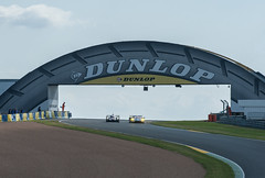 Classic Le Mans view - the Dunlop bridge (Jez B) Tags: le mans 2016 circuit de la sarthe automibile club ouest aco wec world endurance carchampionship dunlop bridge curve track racing race car auto motor sport motorsport
