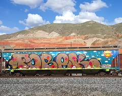 Fobek (jaroh) Tags: graffiti utah wholecar fobek
