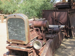 IMG_3150 (christeli_sf) Tags: deathvalley furnacecreek miningequipment scenicdrive