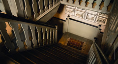 Down the stairs (imagomagia) Tags: light abstract art stairs lights interior stillife artphoto artphotography