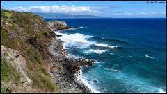 ViewPoint(1) (NatePhotos) Tags: road sunset sea hawaii bay waterfall rainbow cows turtle maui hana jungle waterfalls kapalua rooster eel napili 2016 natephotos