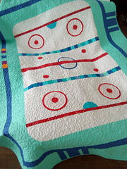 Hockey-rink-quilt_000008 (irina_vykhrestiuk) Tags: modern quilt handmade homemade twin kid child patchwork bedding bed quilting memory throw