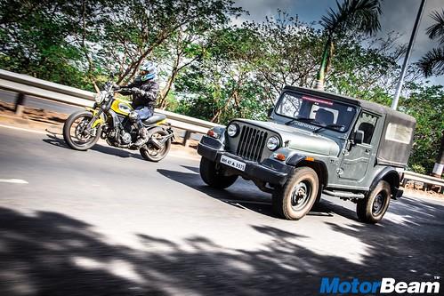 Ducati-Scrambler-vs-Mahindra-Thar-02