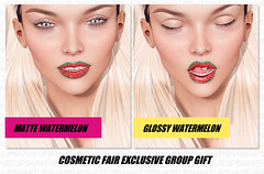Cosmetic Fair Group Gift (Shakeup!) Tags: free secondlife shakeup groupgift lelutka cosmeticfair