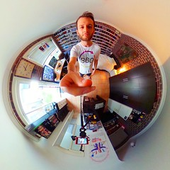 Today I filmed the first of LIFE in 360's YouTube videos, and after working as a freelance videographer for a number of years it was definitely a little strange being infront of the camera for once. But it felt good. Real good : (LIFE in 360) Tags: square 360 virtualreality squareformat spherical 360view theta stereographic thetas photosphere tinyplanet tinyplanets 360panorama panorama360 littleplanet smallplanet 360camera 360photo 360photography 360video iphoneography instagramapp uploaded:by=instagram 360cam tinyplanetbuff tinyplanetfx tinyplanetspro ricohtheta theta360 rollworld livingplanetapp rollworldapp ricohtheta360 ricohthetas lifein360