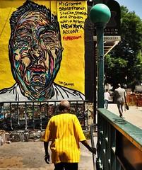 The grampa (ZoK) Tags: streetart newyork subway lowereastside newyorker identity streetartist grampa immigration urbanscape secondavenue newyorkgraffiti subwayrider fumeroism graftscrat