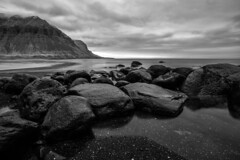 The Westfjords of Iceland (virtualwayfarer) Tags: iceland icelandic westfjords westernfjords fjor fjords europe roadtrip driving exploring canon canon6d dslr roadone road1 highway1 ringroad longexposure water icelandicfjords bildudalur sunset mountain mountains landscape stunninglandscape beautifulnature nature dusk blackandwhite nordic june vikings landofsagas