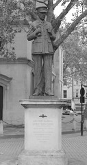 Memorial to Air Chief Marshall Lord Dowding (IanAWood) Tags: urban cityscapes centrallondon walkingwithmynikon nikondf nikkorafs58mmf14g