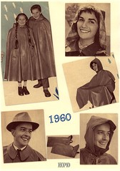 Kleppermode 1960 (hpdyko) Tags: fashion raincoat 1960 klepper regenmantel kleppermantel kleppermode