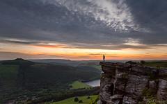 Bamford Edge (David Raynham) Tags: sunset summer colour nature outside nikon rocks derbyshire peakdistrict ngc human d750 fullframe fx darkpeak selfie ladybowerreservoir 2016 bamfordedge sigma24mmf14art