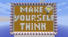 Make Yourself Think Map (MinhStyle) Tags: game video games gaming online minecraft