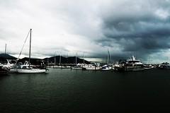 Cairns Harbour ---- IMG_4327 (harry de haan) Tags: harrydehaan qld fnq australia queensland wetseason wet cairns canon