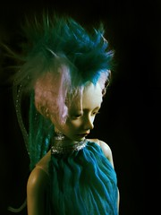 Rei IMG_1548_teal (tarengil) Tags: asian doll abjd bjd dollmore zaoll luv ws white skin resin gynoid turquoise cyberlox cyberpunk
