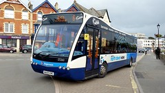 North Devon Wave in North Cornwall..... Bude July 2016 (Dave Growns) Tags: 25260 wa09kws stagecoachsouthwest stagecoach southwest southwestbuses northdevonwave northdevonwavestagecoachsouthwest stagecoachsouthwestnorthdevonwave optare optareversa versa bude 6 exeter okehampton kernow lowfloor publictransport uk bus buses northcornwall