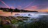 Tentacles (Rodney Campbell) Tags: gnd09 water whalebeach sunrise ocean sky cpl rocks newsouthwales australia au